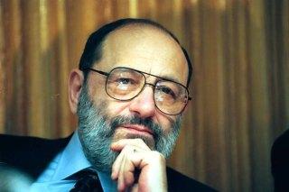 25.02.1996 - UMBERTO ECO FOT. WOJCIECH DRUSZCZ AGENCJA GAZETA WD712